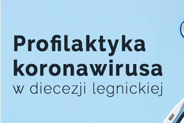 Profilaktyka koronawirusa w diecezji legnickiej