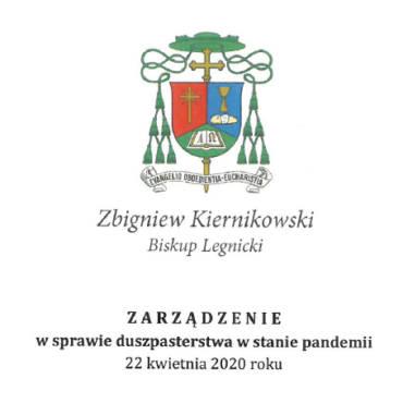Zarządzenie z dnia 22.04.2020