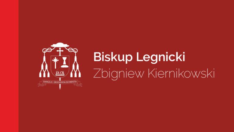 Zarządzenie Biskupa Legnickiego z 16 października 2020 roku